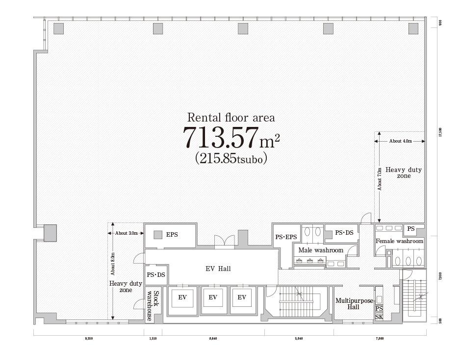 FLOOR PLAN|PMO Akihabara kita | Rental