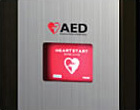 AED located in the lobby